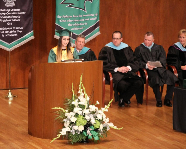Hannah Long Graduation Speech