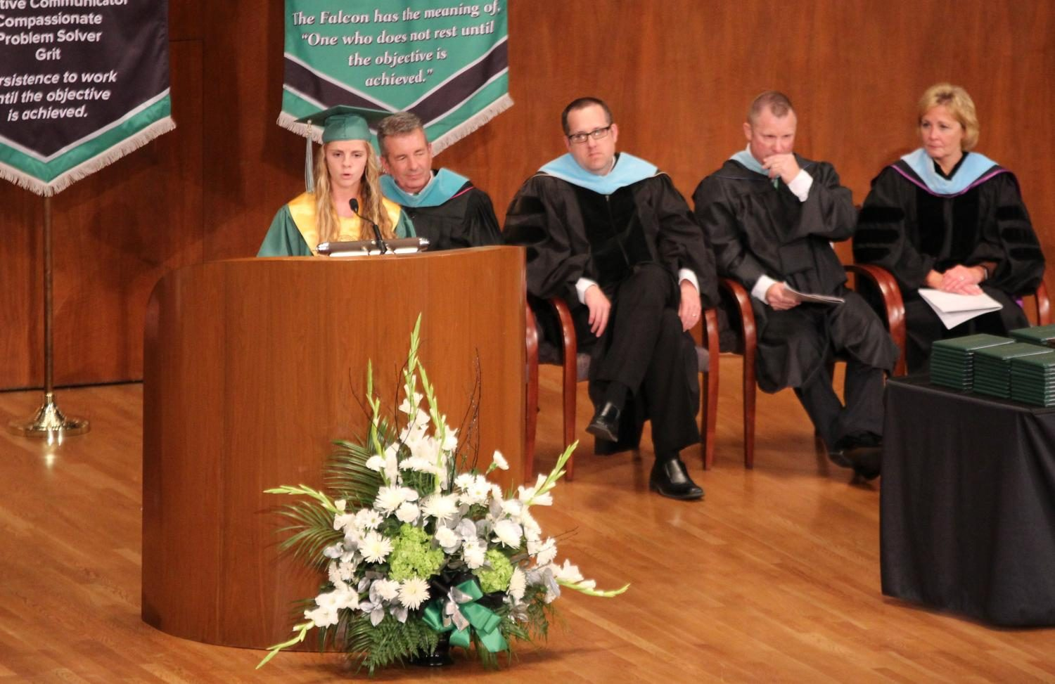 Ashley Beffa Graduation Speech