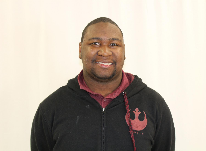 Senior Corbin Sampson
